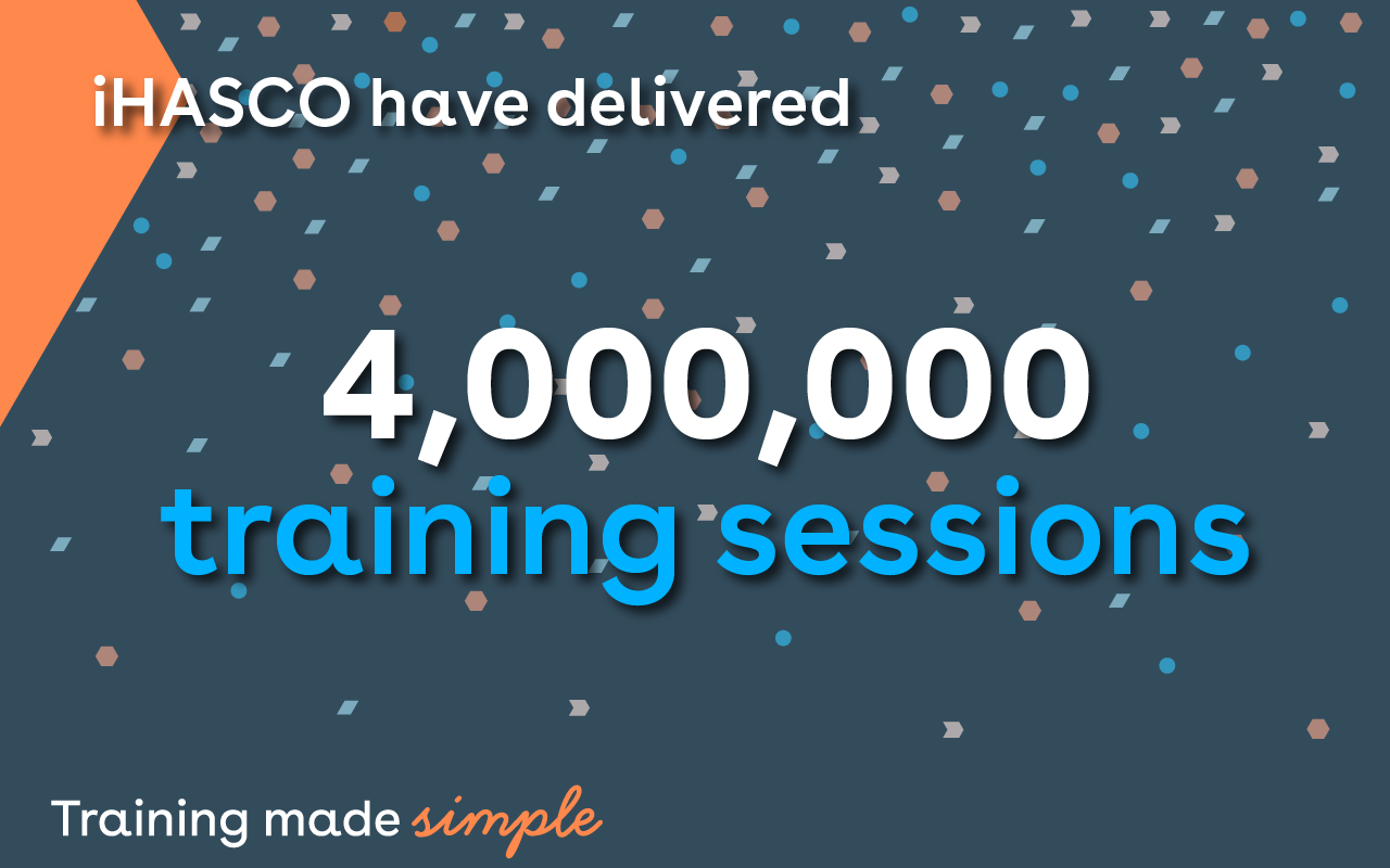 We've now delivered 4 million training sessions!