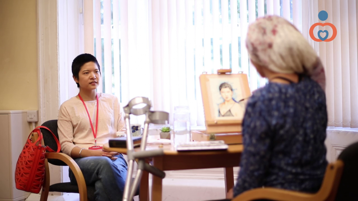 A screenshot from our Equality & Diversity in Care Course