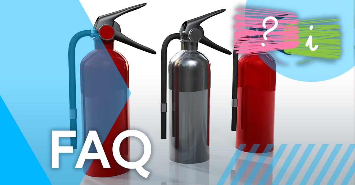 Are chrome fire extinguishers illegal?