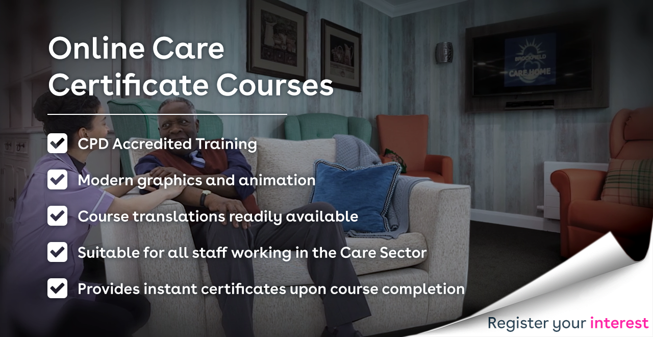 Online Care Certificate Training Courses