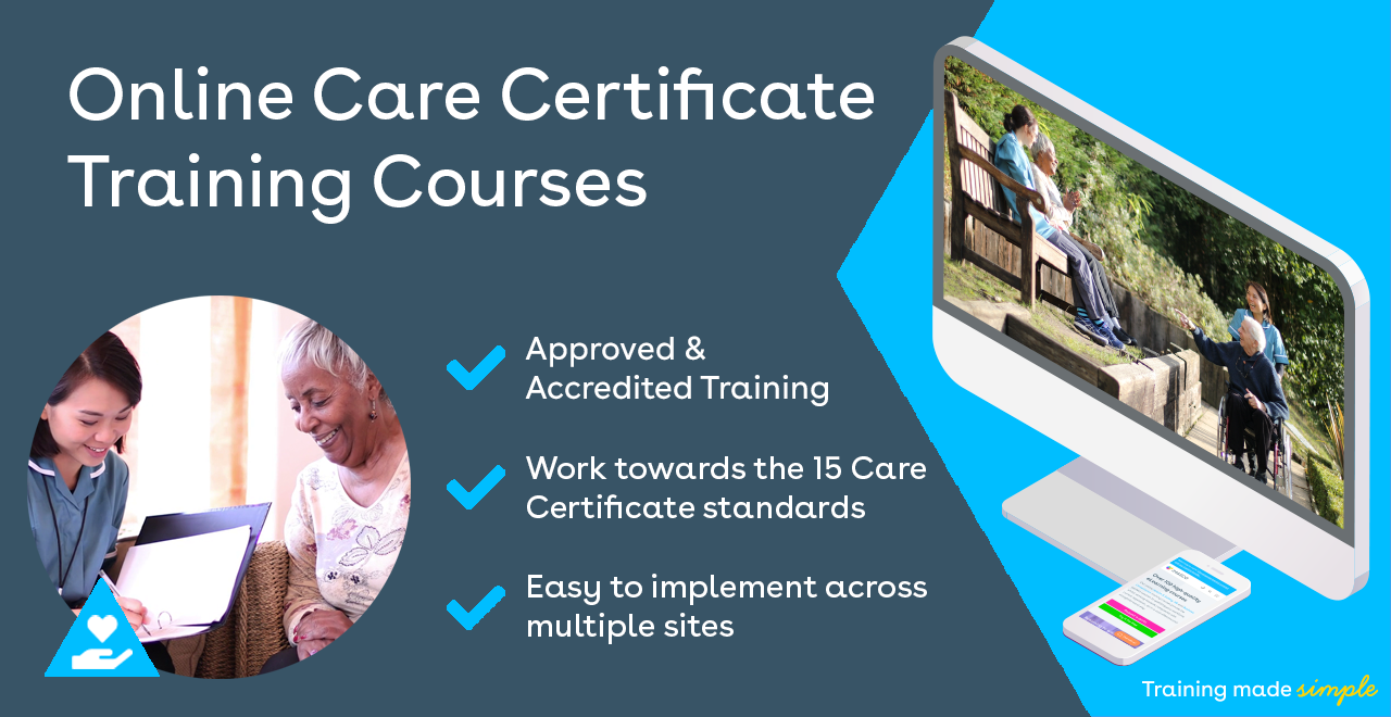 iHASCO's online training courses for the 15 standards of the care certificate