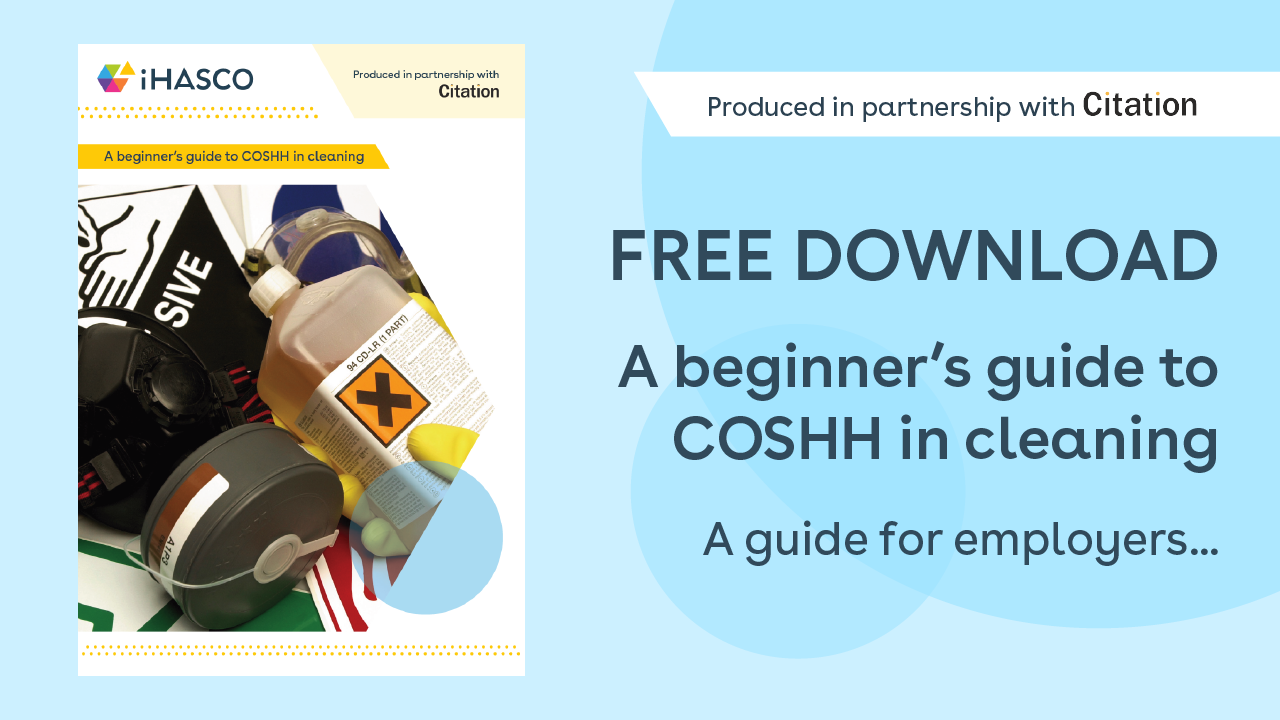 Free download: A beginners guide to COSHH in cleaning