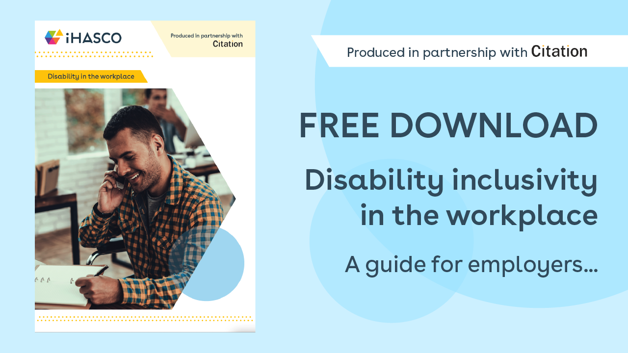 Free download: A guide to disability inclusivity in the workplace