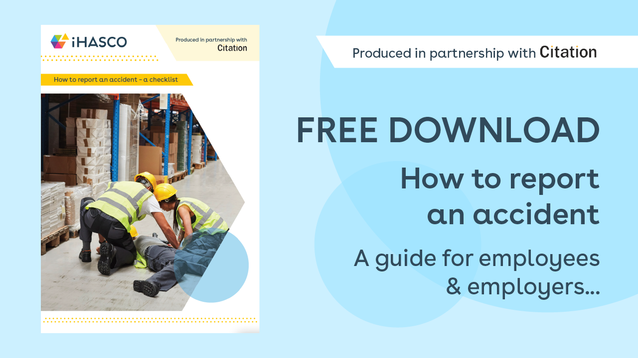 Free download: How to report an accident checklist