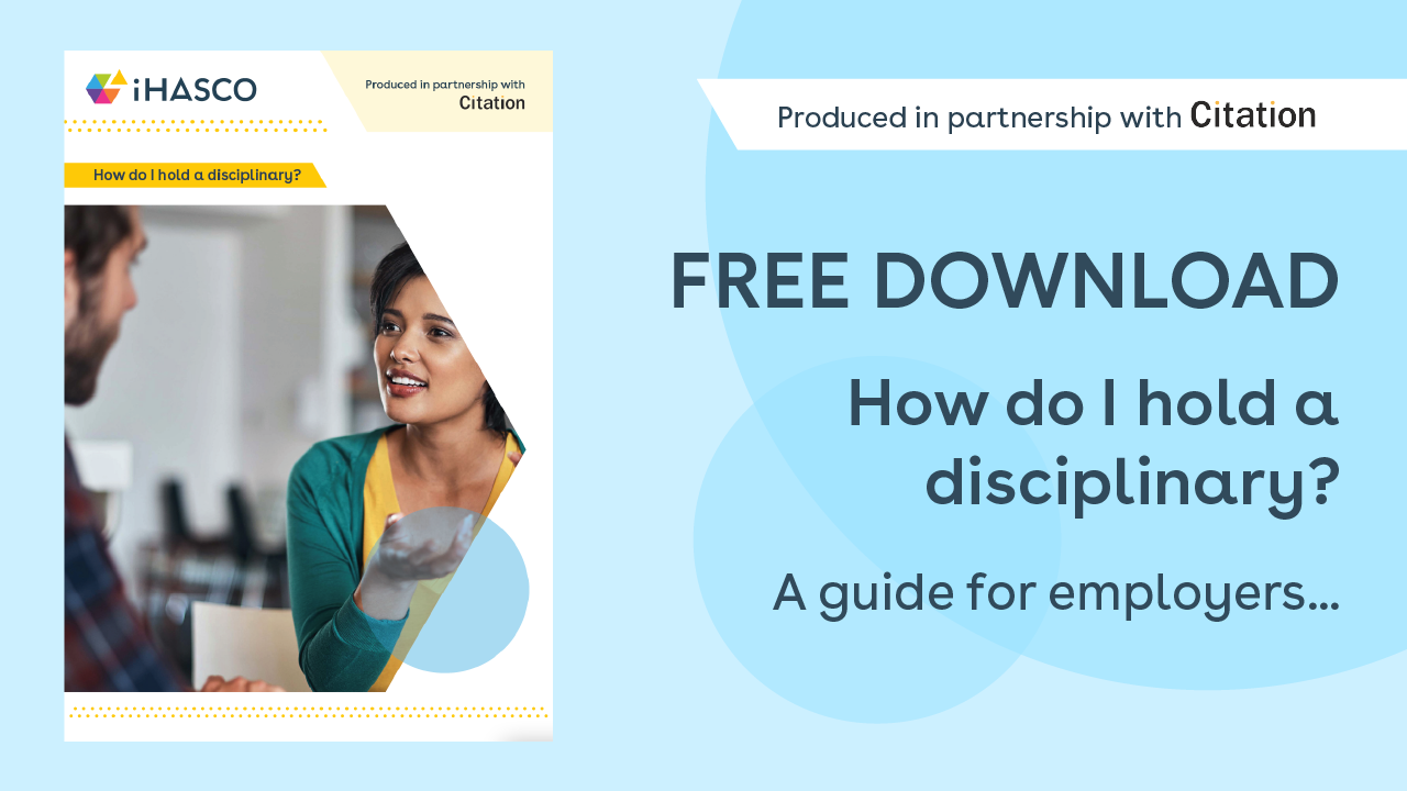 Free download: How to hold a disciplinary