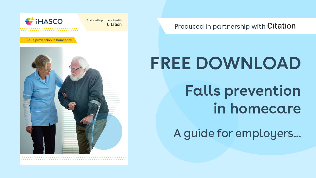 Free download: A guide to falls prevention in homecare