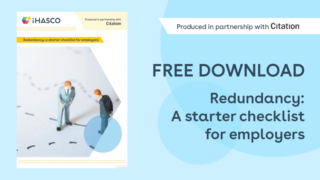 Free download: Redundancy checklist for employers