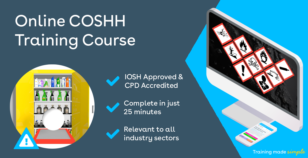 Online CoSHH Training