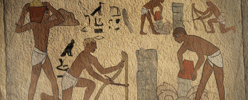 Ancient Egyptians - image extracted from CoSHH training