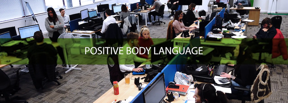 Looking at how positive body language can impact conflict resolution