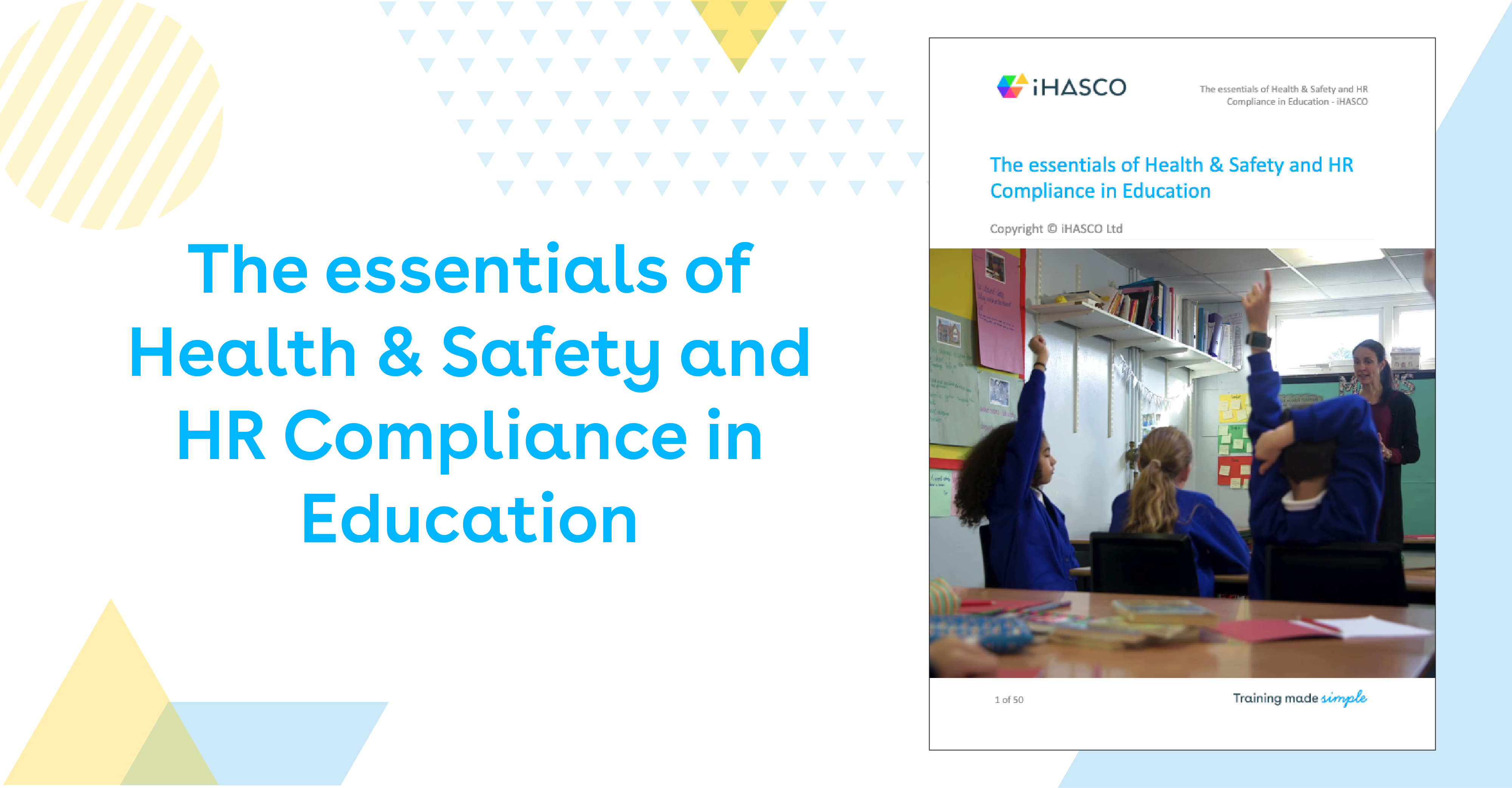 Download Our Free Education White Paper Today Ihasco