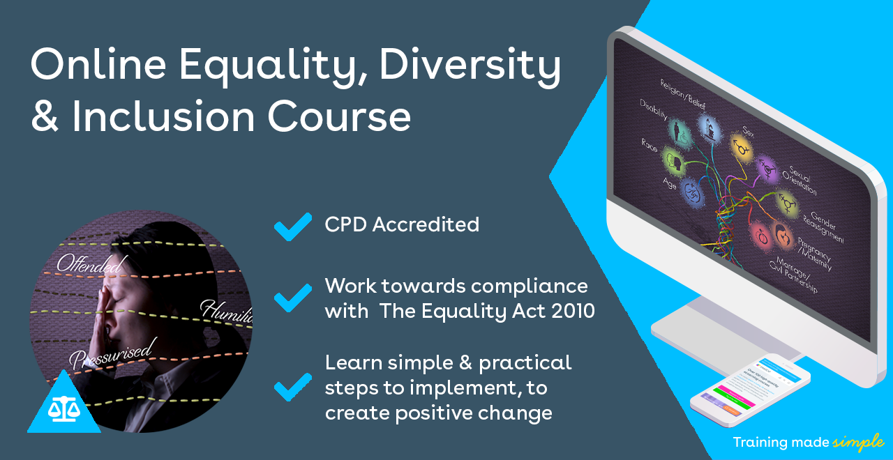 Equality, Diversity & Inclusion (EDI) Training