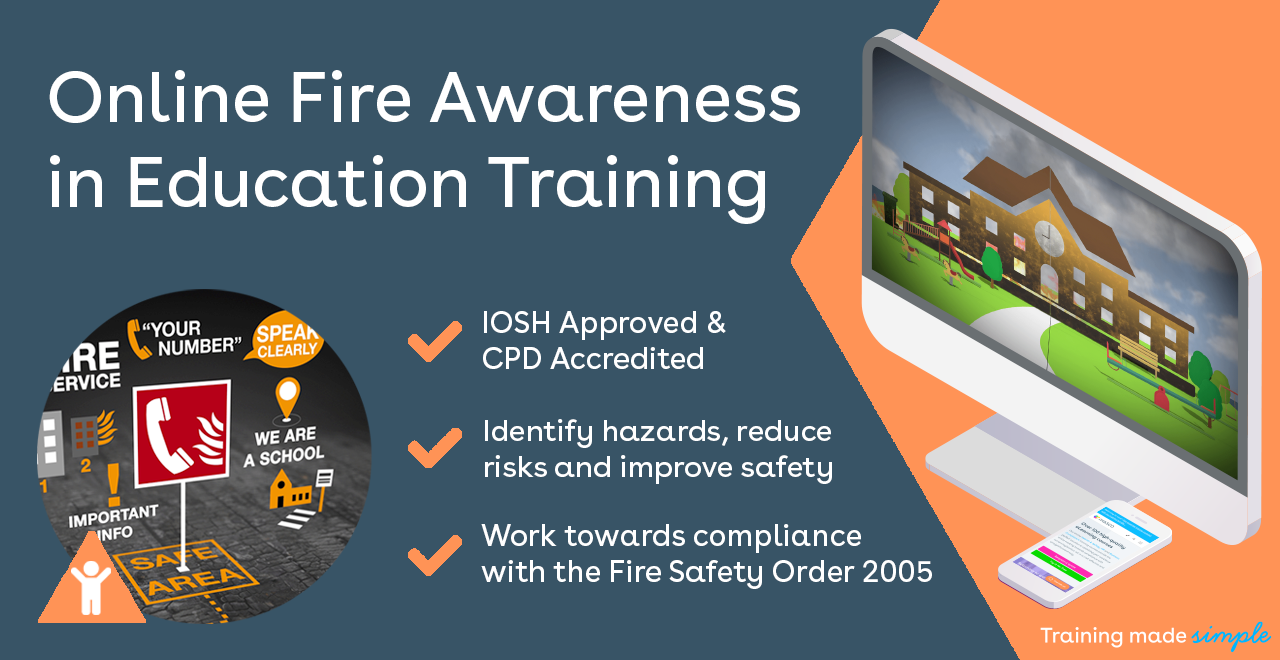 Online Fire Awareness in Education Training