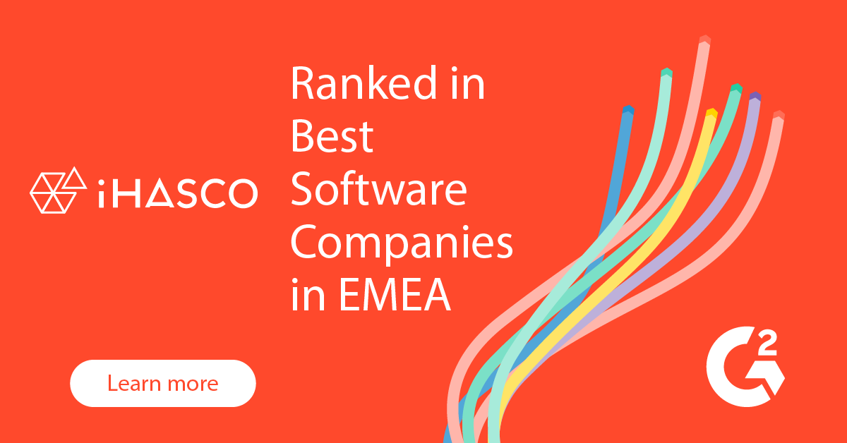 iHASCO ranked in top 100 software companies in EMEA