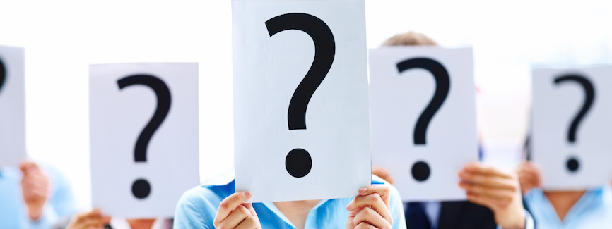10 outrageous Health & Safety myths - Question mark cards