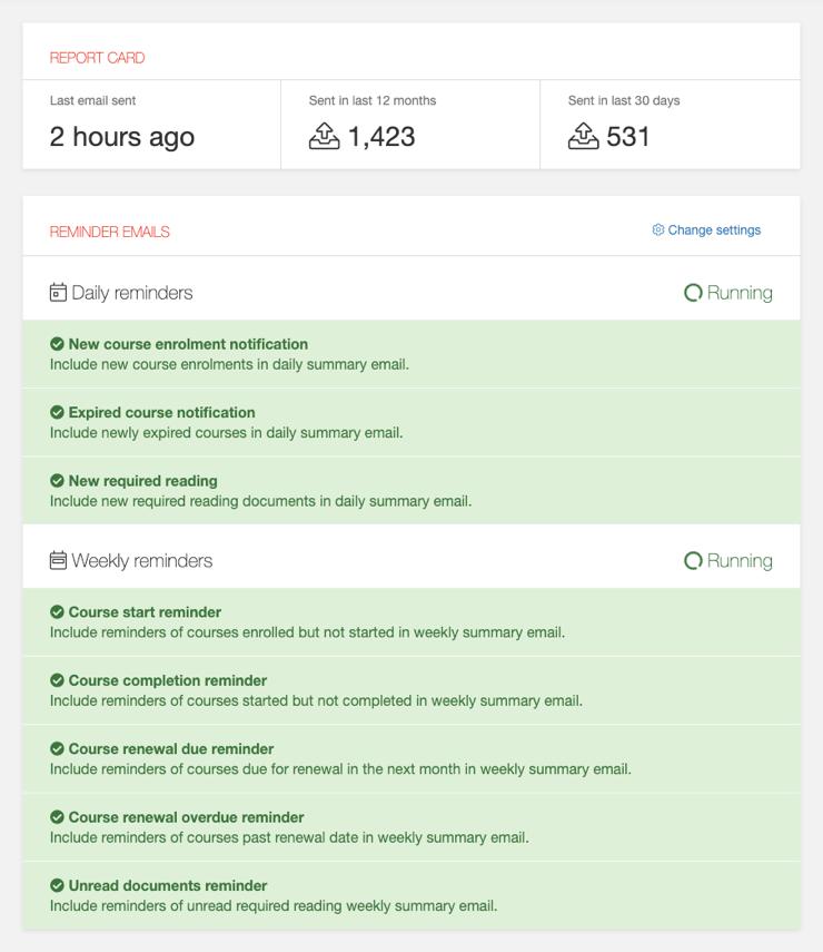 Insights automation screenshot