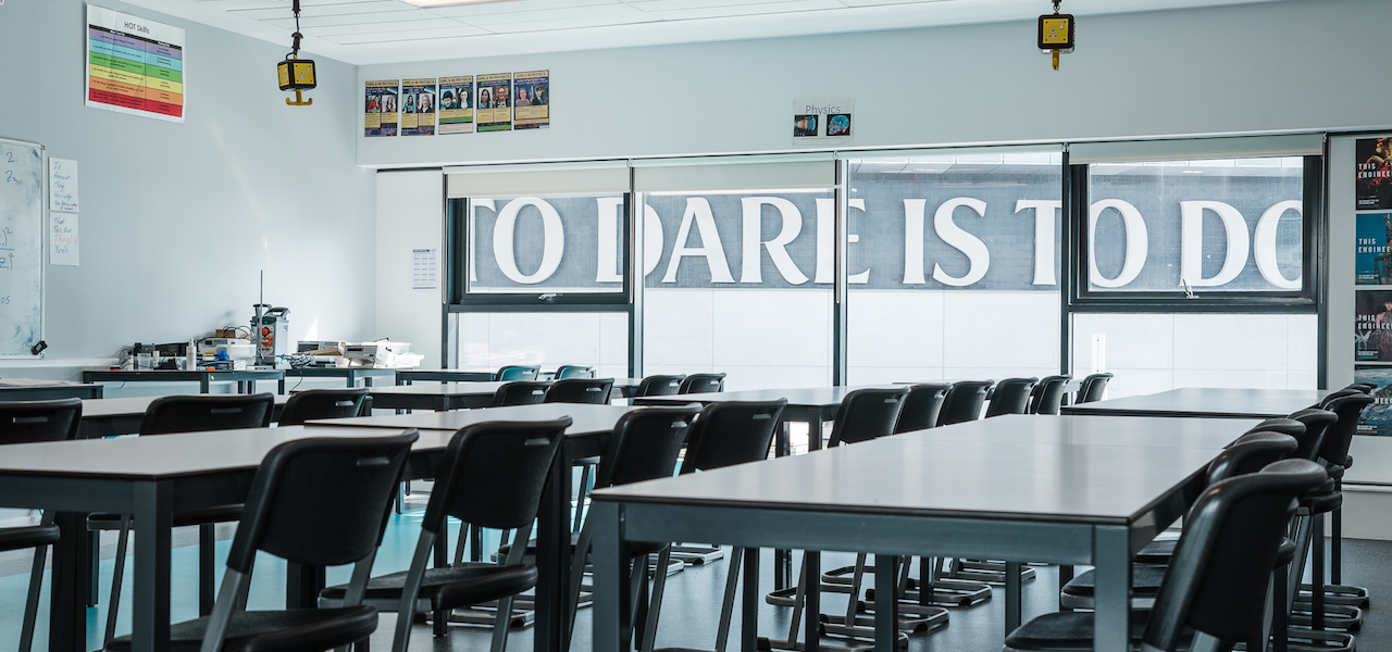London Academy of Excellence - To dare is to do