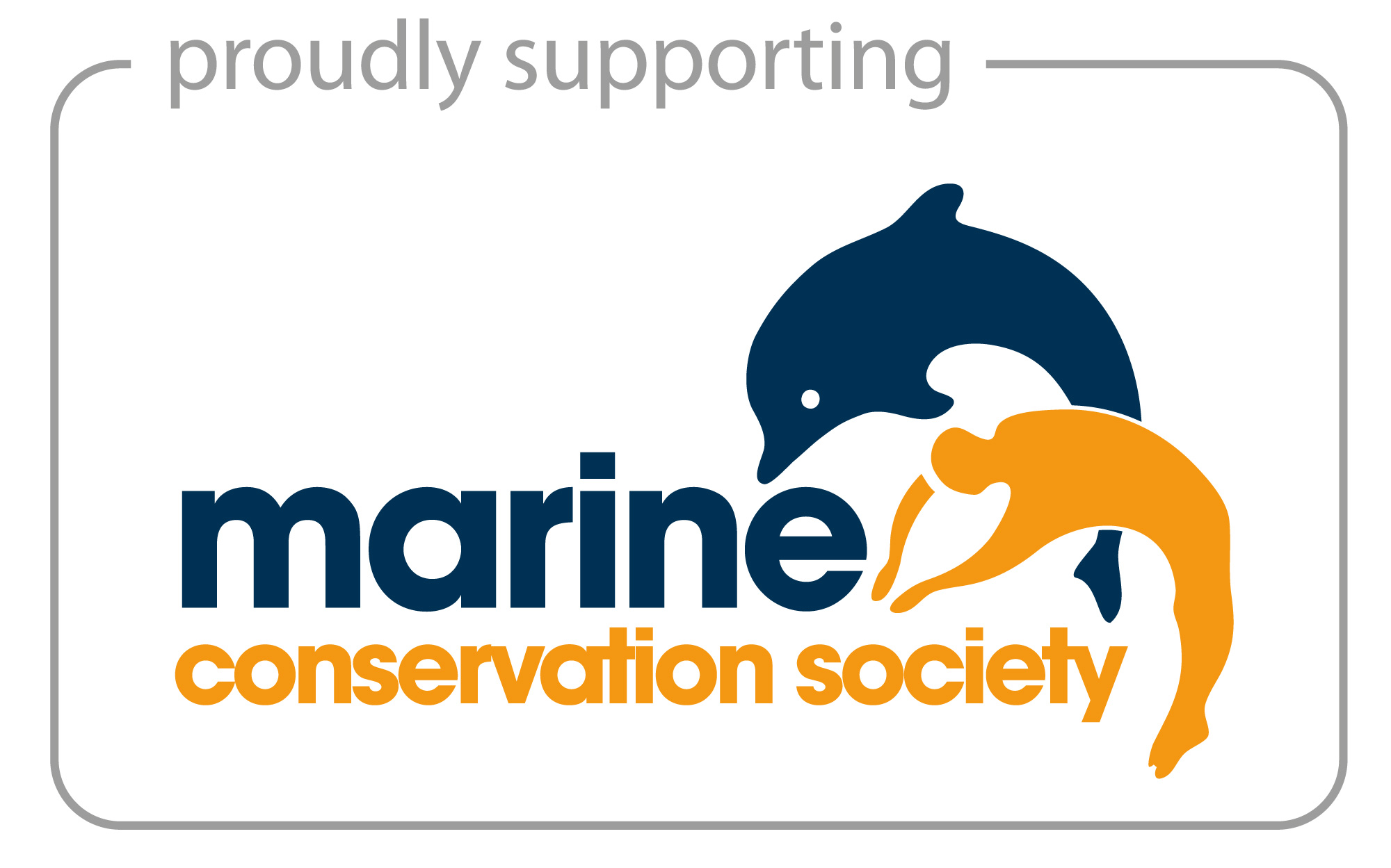 Proudly supporting Marine Conservation Society Logo