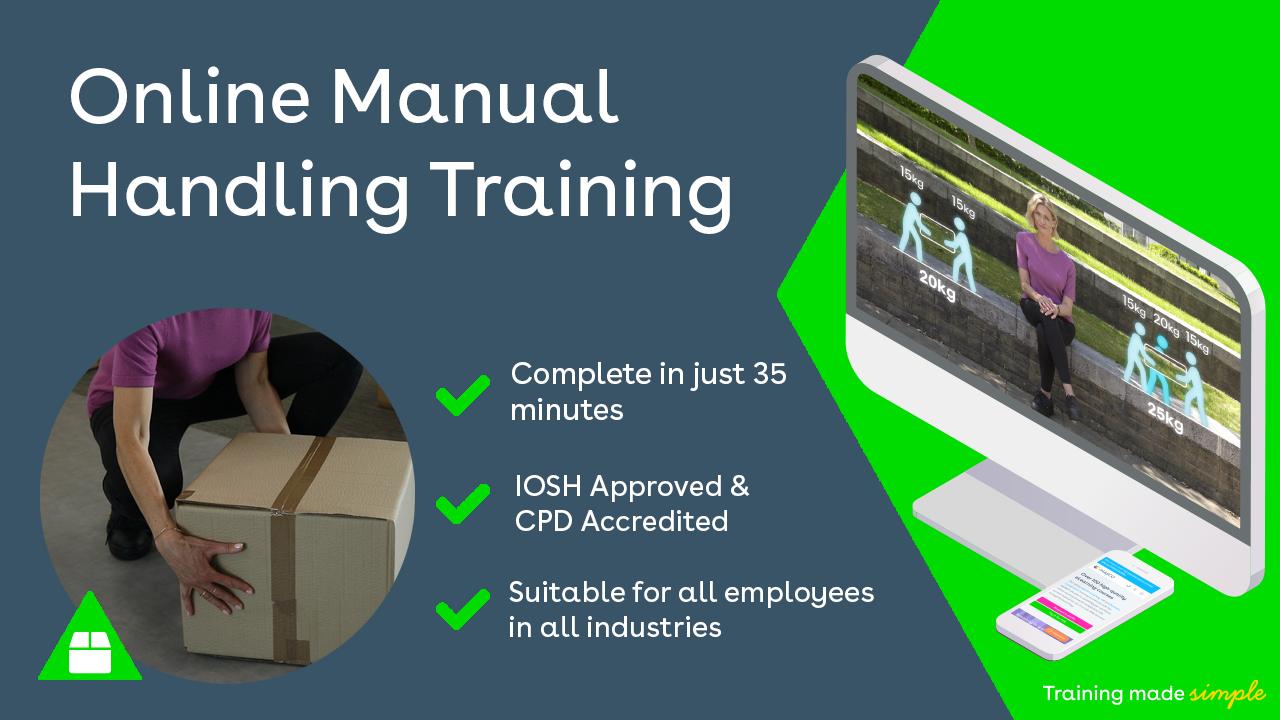 Manual Handling Training Promo Image