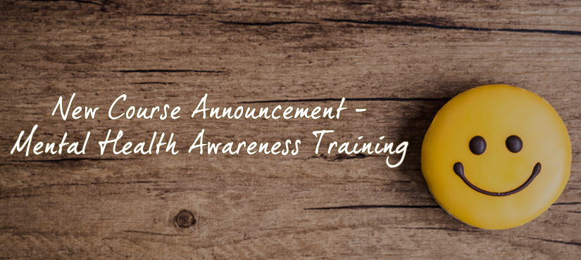 New course announcement - Mental Health Awareness Training