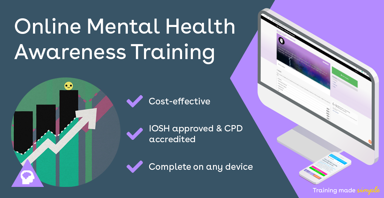 Online mental health awareness courses image for iHASCO's online training