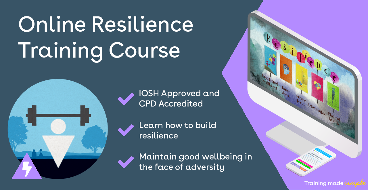 Online Resilience Training Promo Image