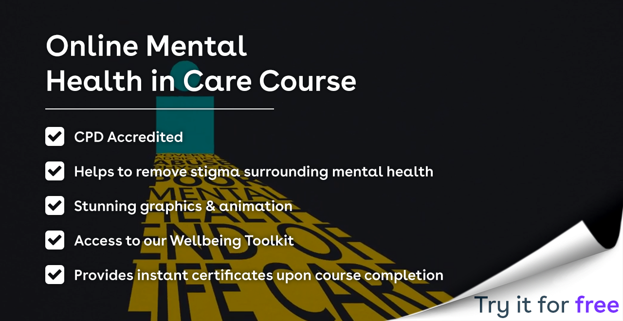 Mental Health in Care training