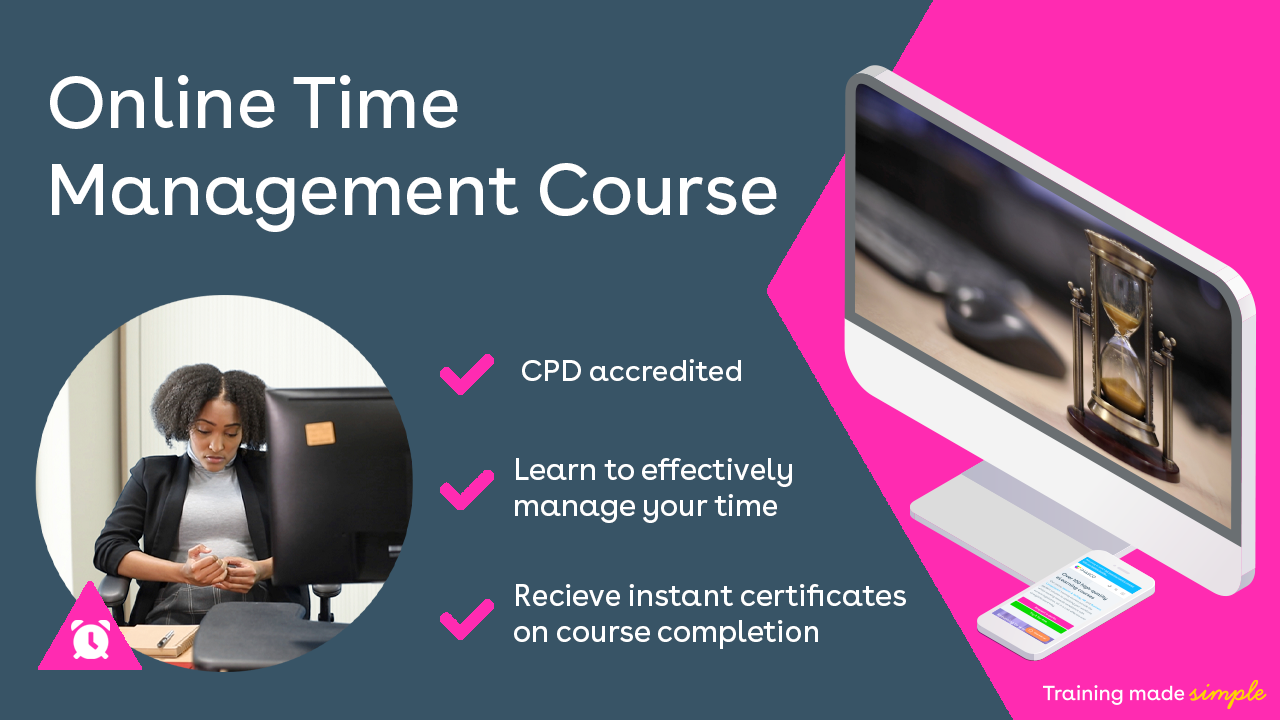 Online Time Management Training Course
