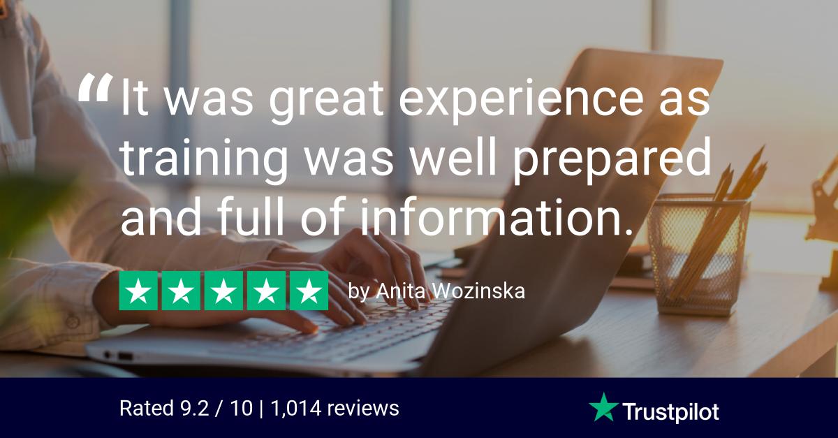 Anita Wozinska Trustpilot Review