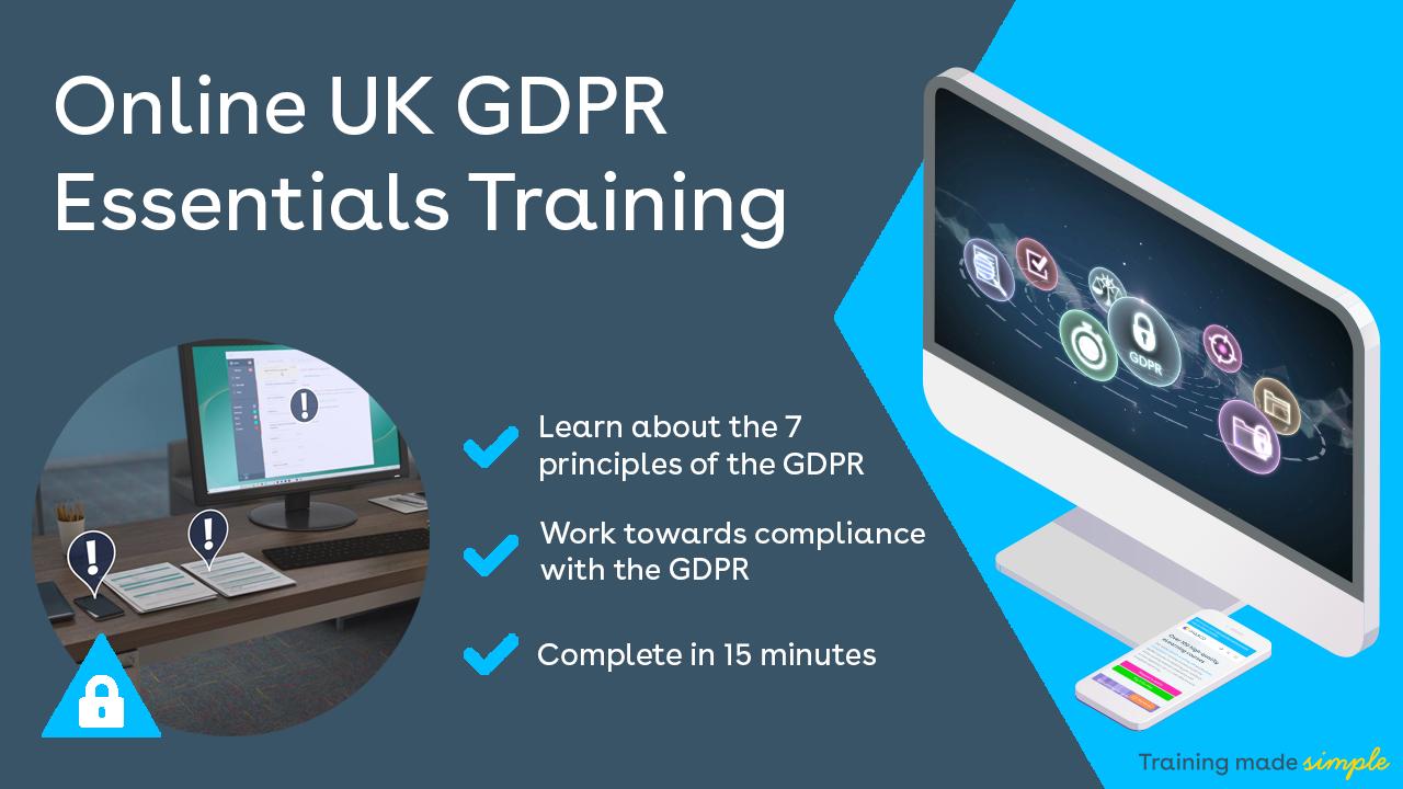 UK GDPR Essentials Training