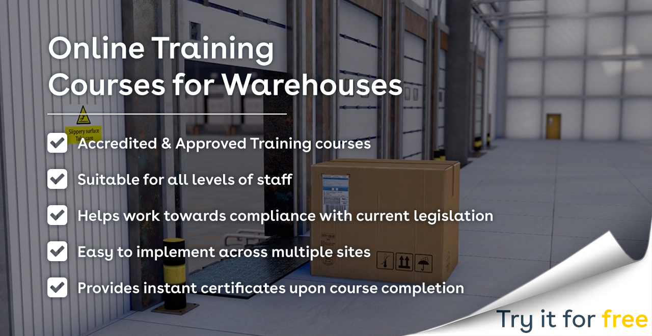 Online Training Courses for Warehouses