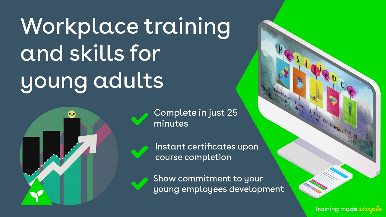Workplace training and skills for young adults