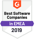 Best companies in EMEA g2 crowd