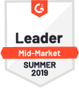 G2 Crowd Award for a market leader