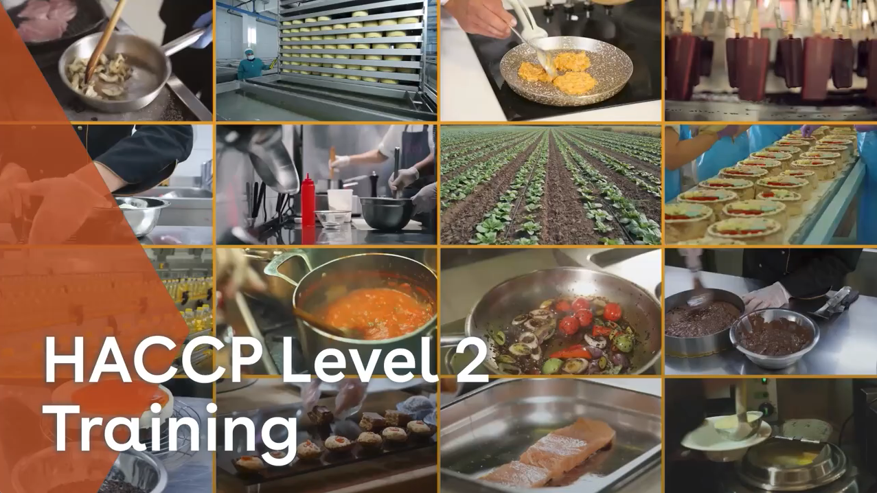 HACCP Level 2 Training youtube thumbnail