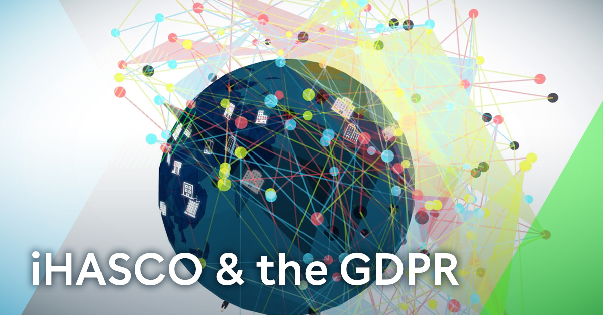 iHASCO and the GDPR