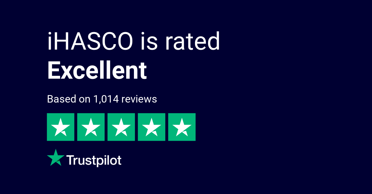 iHASCO on Trustpilot