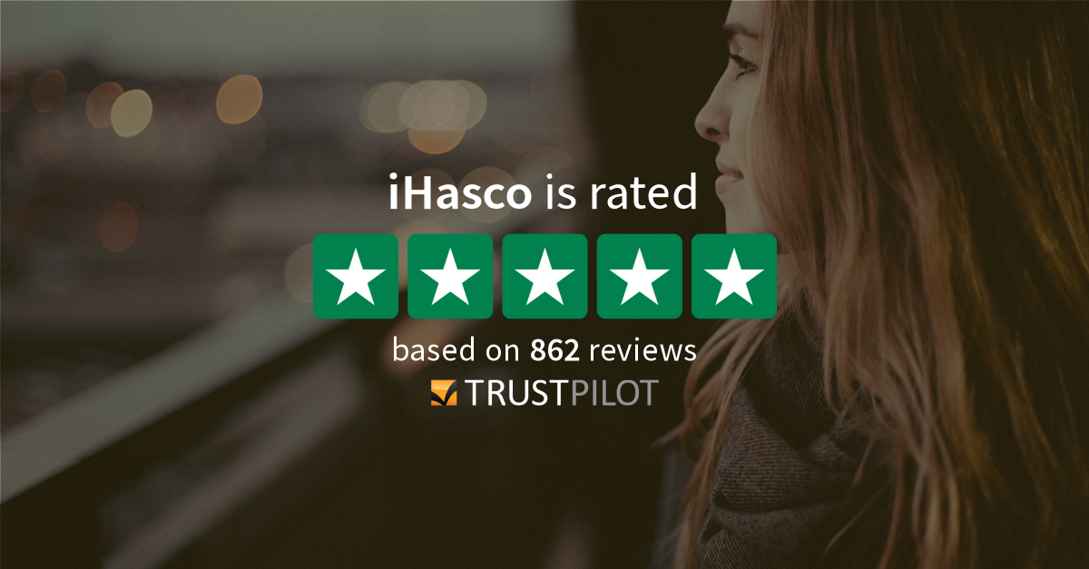 iHasco Trustpilot reviews