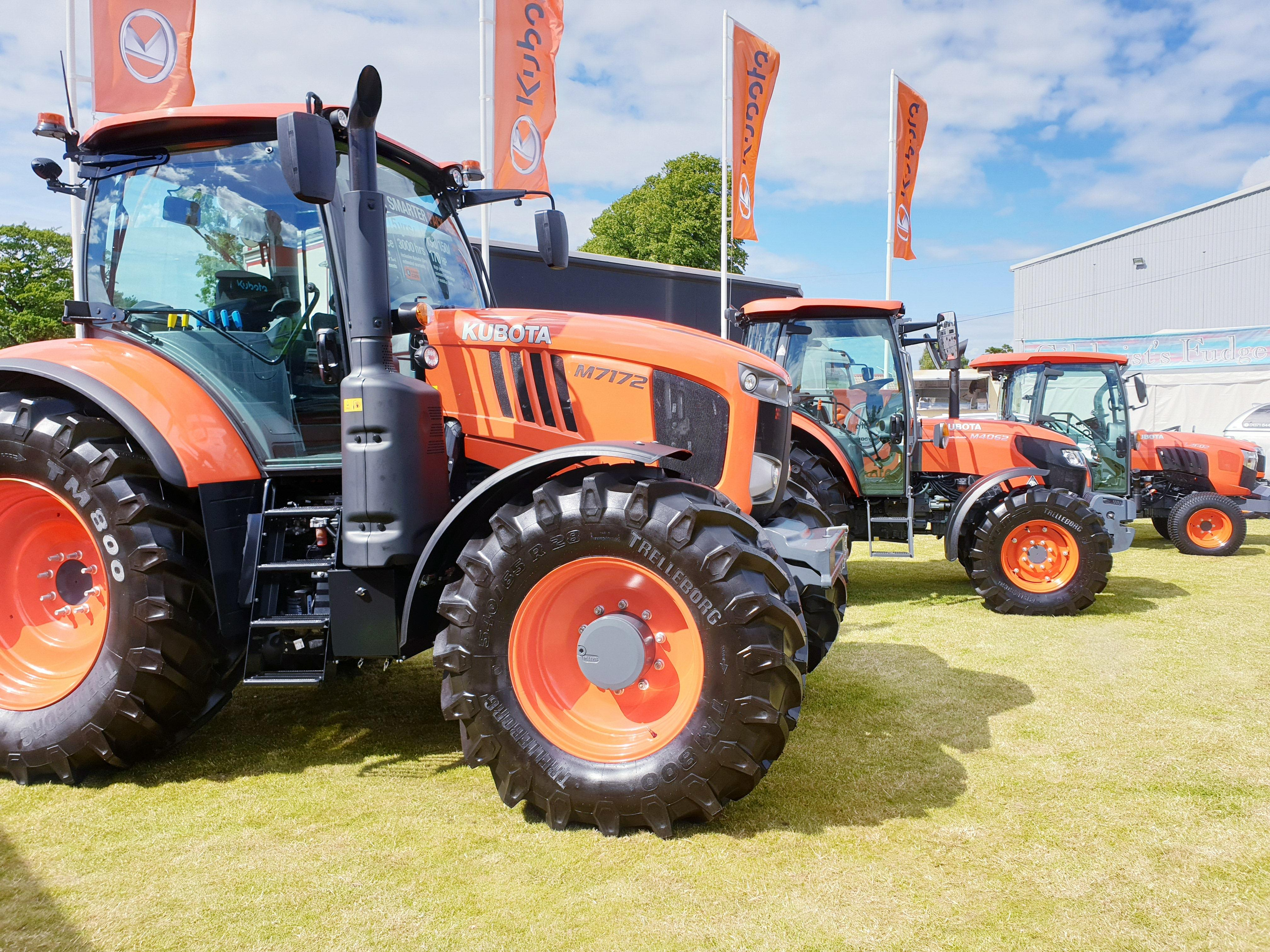 Kubota Exhibiting at the highland show