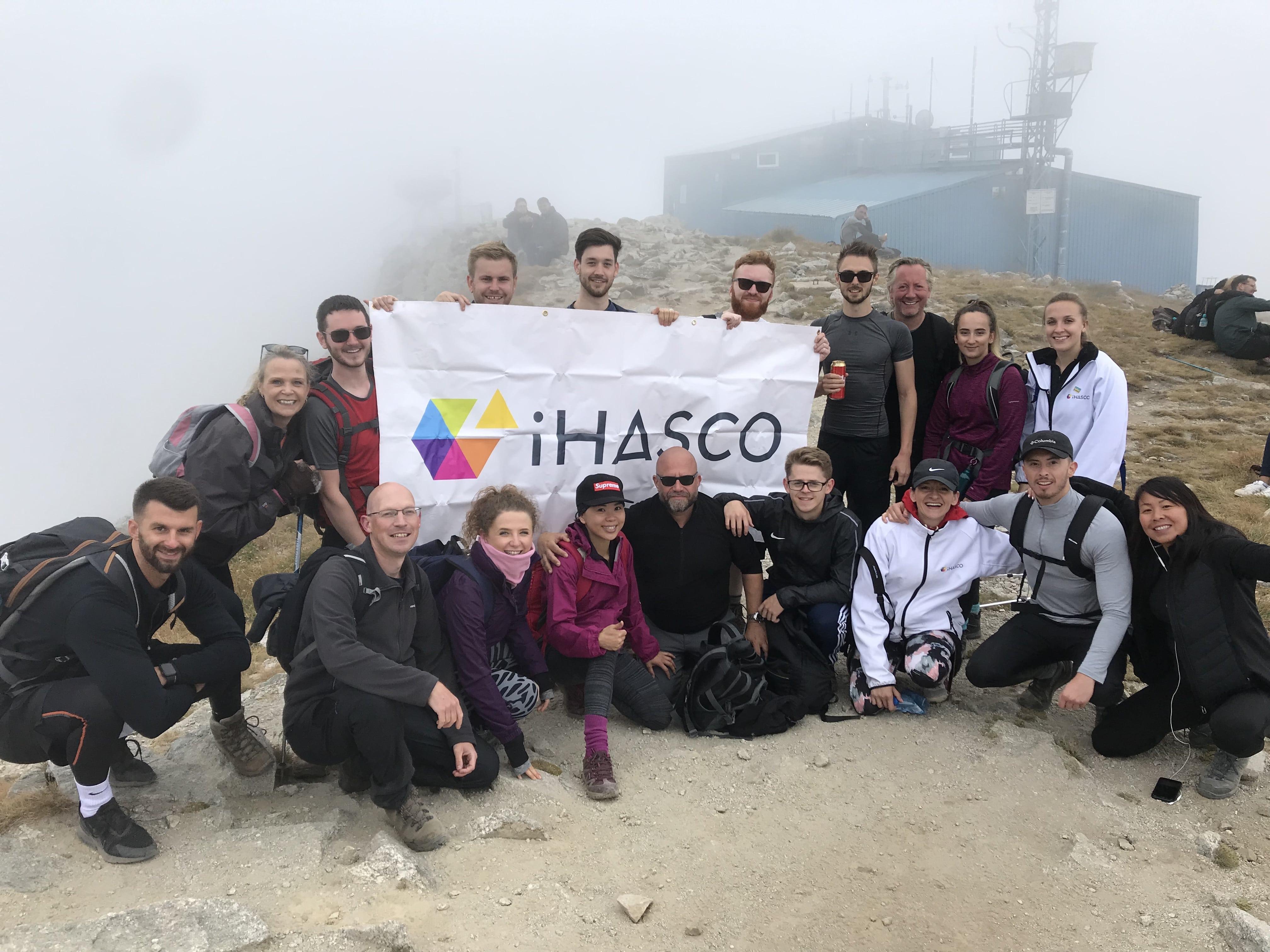 iHASCO reach the peak of Mt Musala