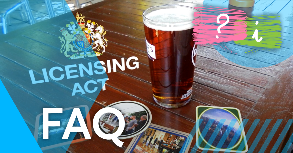 What is the Licensing Act?