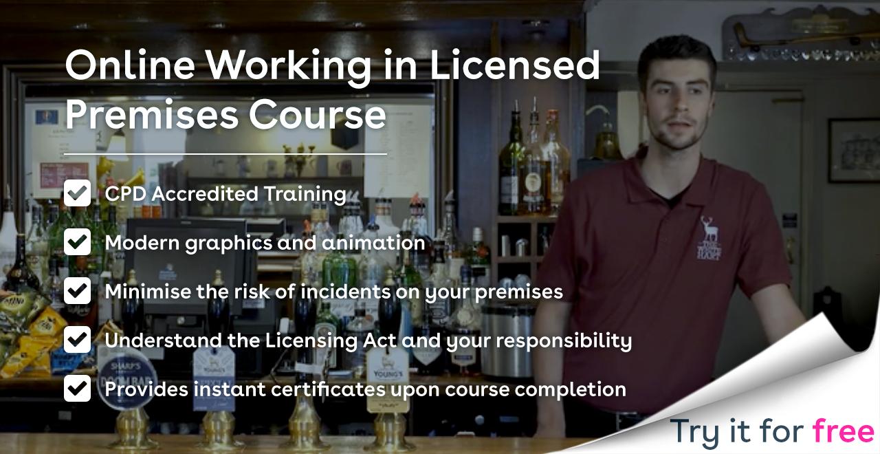 Working in Licensed Premises