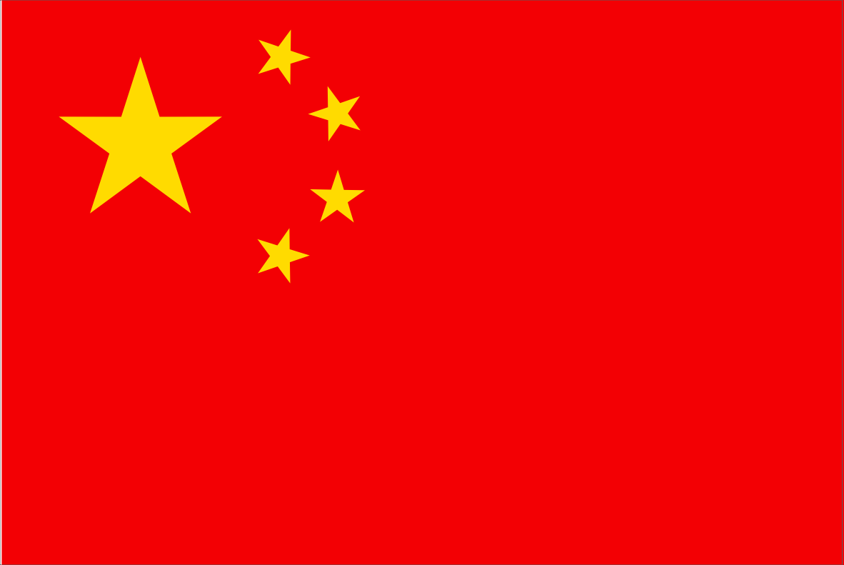 The Chinese (Simplified) flag.