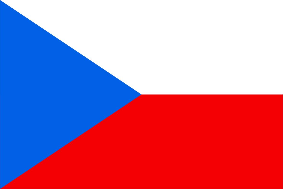 The Czech flag.