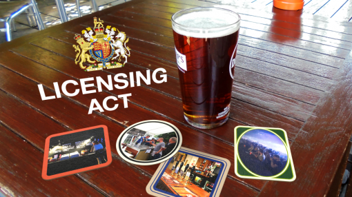 Looking at The Licensing Act as part of our Bar Staff Training programme