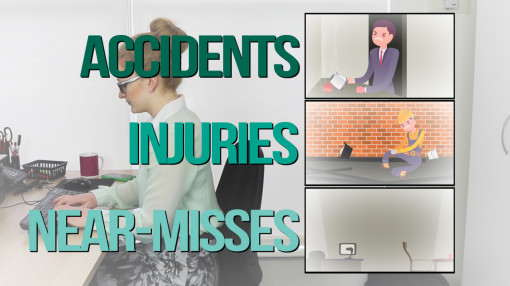The first section of our Accident Reporting Training programme looks at accidents, injuries and near-misses.