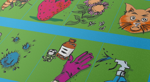 An illustration of several different allergies - Anaphylaxis & Allergy Training for Schools & Carers
