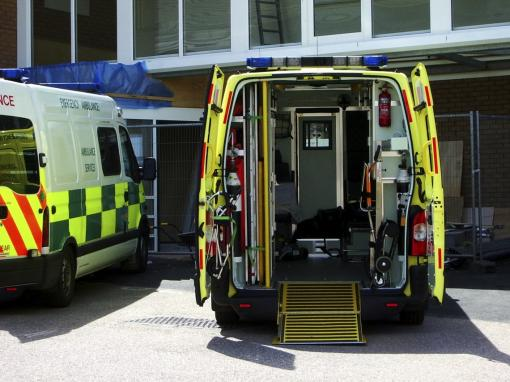 An image of ambulances - First Aid Appointed Person Training