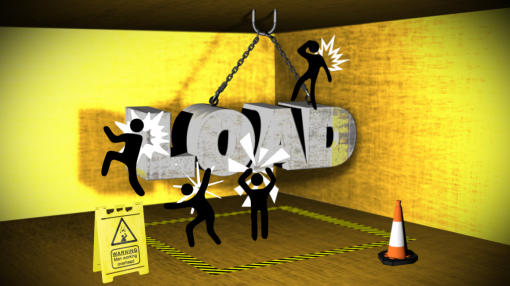 Animation of a cherry picker - LOLER Training