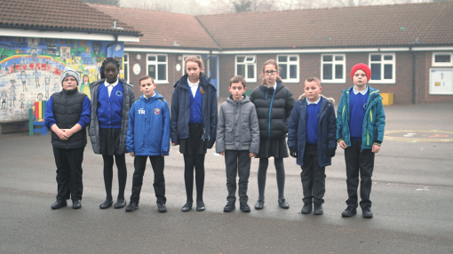Children standing in a line - School Trips Training (For Organisers & Support)